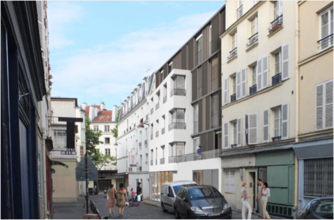 Economie de la construction 5 logements Paris