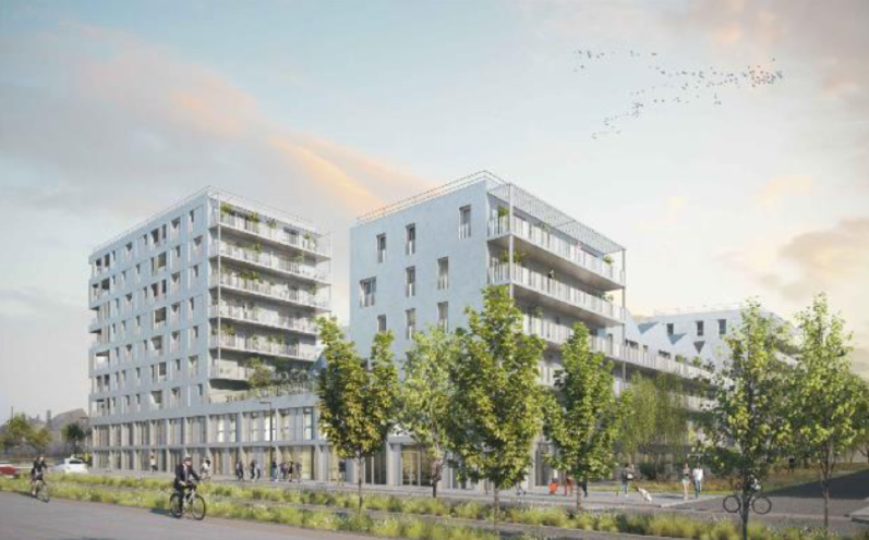 Economie construction 102 logements Rennes